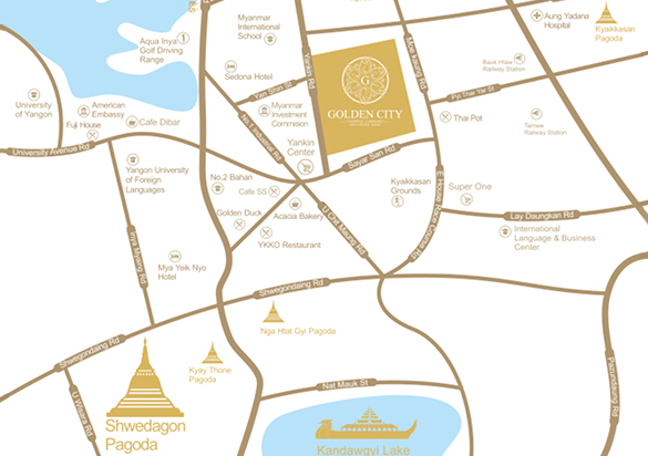 Golden City Map
